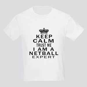 Netball Expert Designs Kids Light T-Shirt