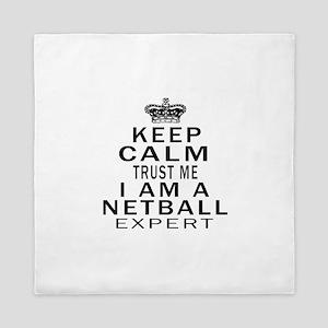 Netball Expert Designs Queen Duvet