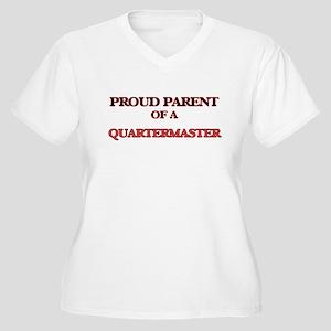 Proud Parent of a Quartermaster Plus Size T-Shirt