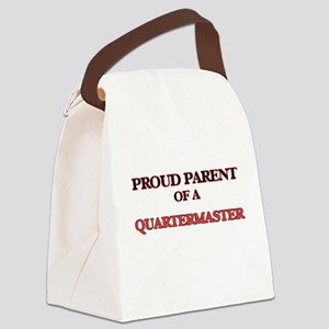 Proud Parent of a Quartermaster Canvas Lunch Bag
