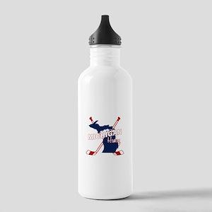Michigan Hockey Stainless Water Bottle 1.0L
