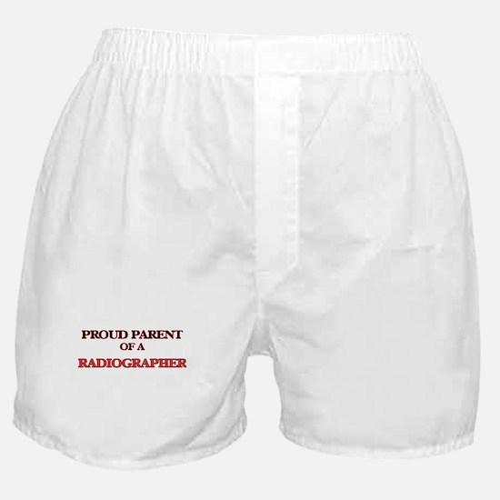 Proud Parent of a Radiographer Boxer Shorts