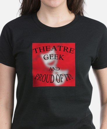 Proud Geek Women's Dark T-Shirt