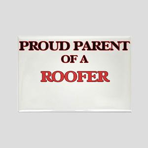 Proud Parent of a Roofer Magnets