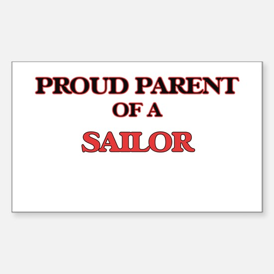 Proud Parent of a Sailor Decal