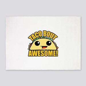 Taco Bout Awesome 5'x7'Area Rug