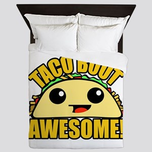 Taco Bout Awesome Queen Duvet