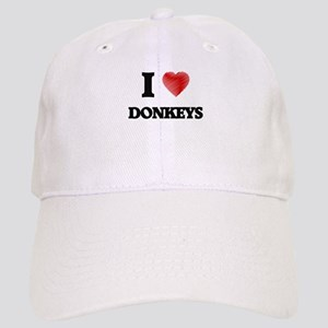 I love Donkeys Cap