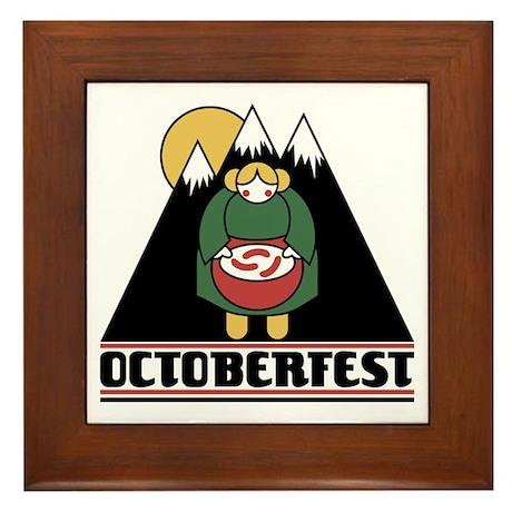 Octoberfest Framed Tile