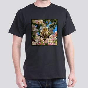 Owl in Blossom T-Shirt