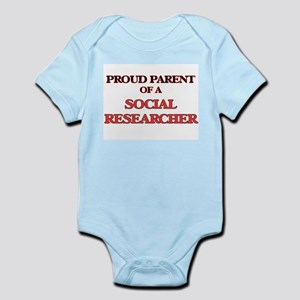 Proud Parent of a Social Researcher Body Suit
