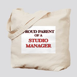 Proud Parent of a Studio Manager Tote Bag