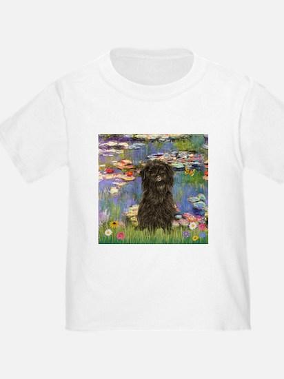 Monet's Lilies & Affenpinsche T