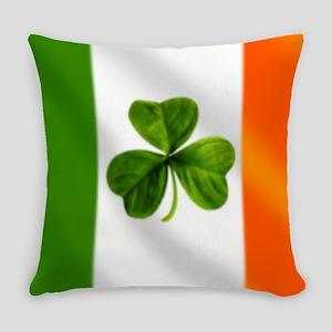 Irish Shamrock Flag Everyday Pillow