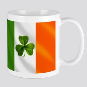 Irish Shamrock Flag Mugs