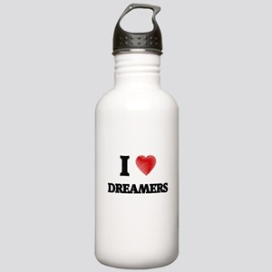 I love Dreamers Stainless Water Bottle 1.0L