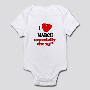 March 23rd Infant Bodysuit