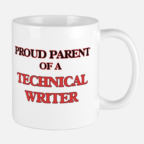 Proud Parent of a Technical Writer Mugs