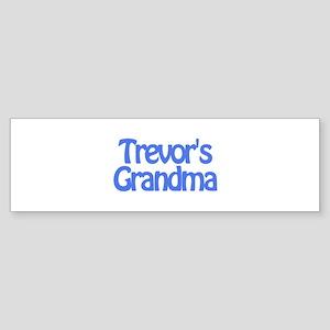 Trevor's Grandma Bumper Sticker