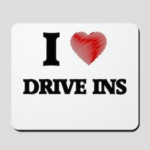 I love Drive Ins Mousepad