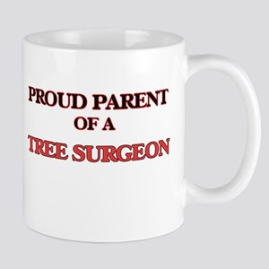 Proud Parent of a Tree Surgeon Mugs
