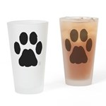 Paw Word Mug Drinking Glass