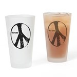 Peace, Get It? Drinking Glass