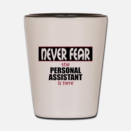 Personal Assistant Shot Glass