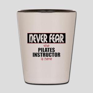Pilates Instructor Shot Glass