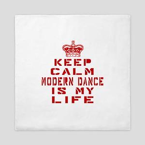 Keep Calm and Modern Dance Queen Duvet