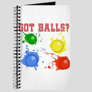 Splattered Paint Balls Journal