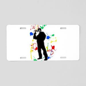 R U Ready 4 Paintball Aluminum License Plate