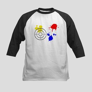 Gunsight and Paint Splotches Baseball Jersey