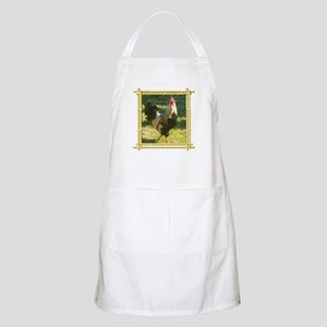 Cocky Strutting Rooster Light Apron