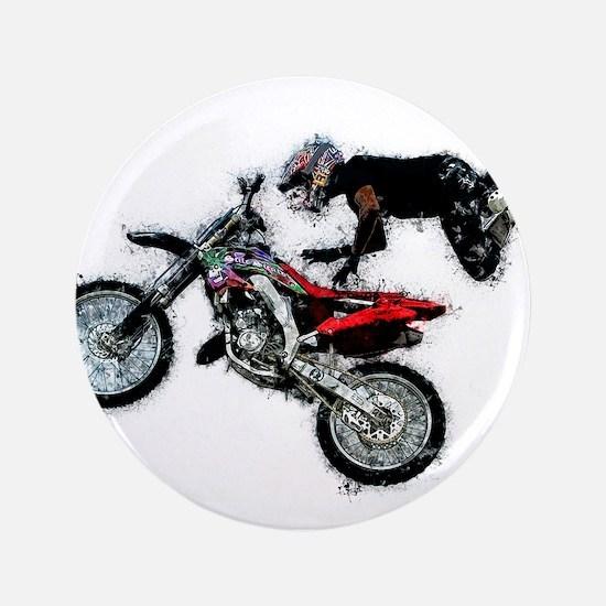 Motocross Jump Paint Splatter Button