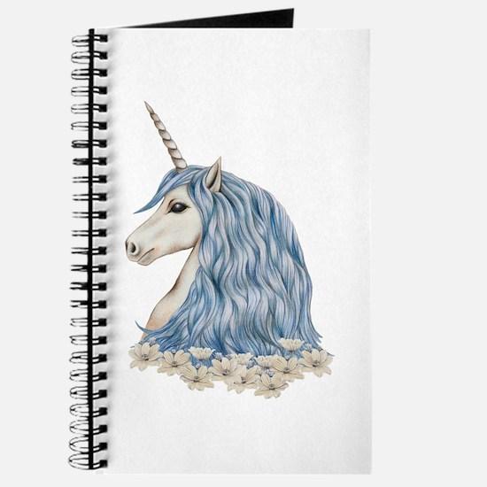 White Unicorn Drawing Journal