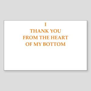 thanks Sticker