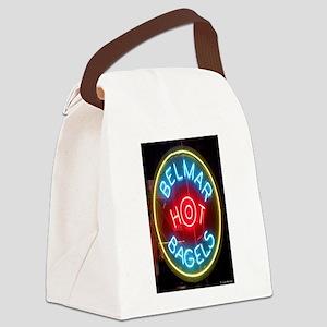 Belmar Hot Bagels Canvas Lunch Bag