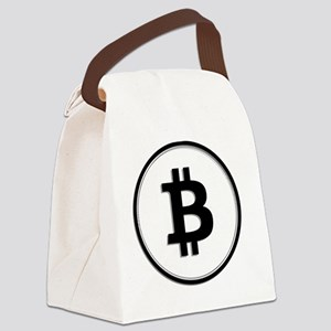Bitcoin Canvas Lunch Bag
