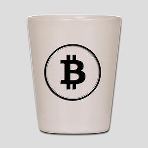 Bitcoin Shot Glass