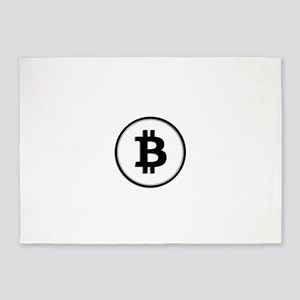 Bitcoin 5'x7'Area Rug