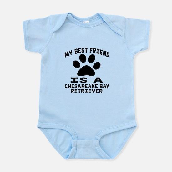 Chesapeake Bay Retriever Is My Bes Infant Bodysuit