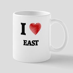 I love EAST Mugs