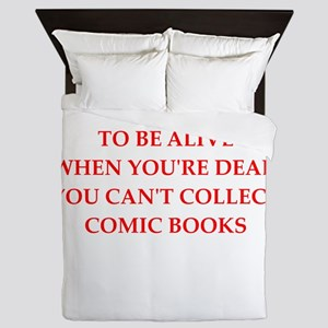 comic books Queen Duvet