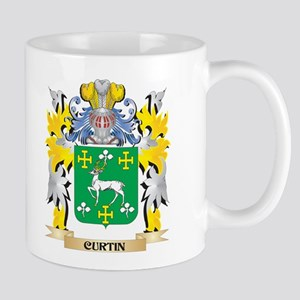 Curtin Coat of Arms - Family Crest Mugs