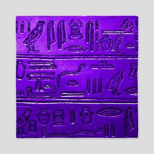Hieroglyphs20160345 Queen Duvet