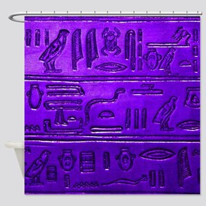 Hieroglyphs20160345 Shower Curtain