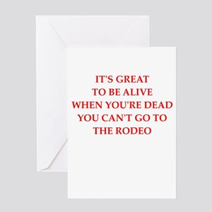 rodeo Greeting Cards