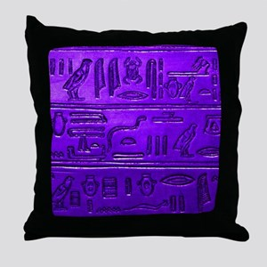 Hieroglyphs20160345 Throw Pillow