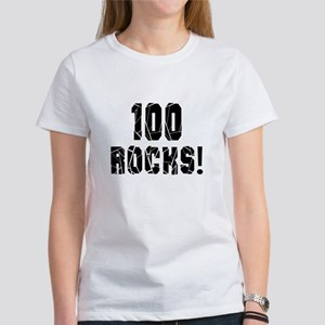 100 Rocks Birthday Designs Women's T-Shirt